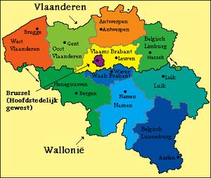 hoofdsteden van de provincies